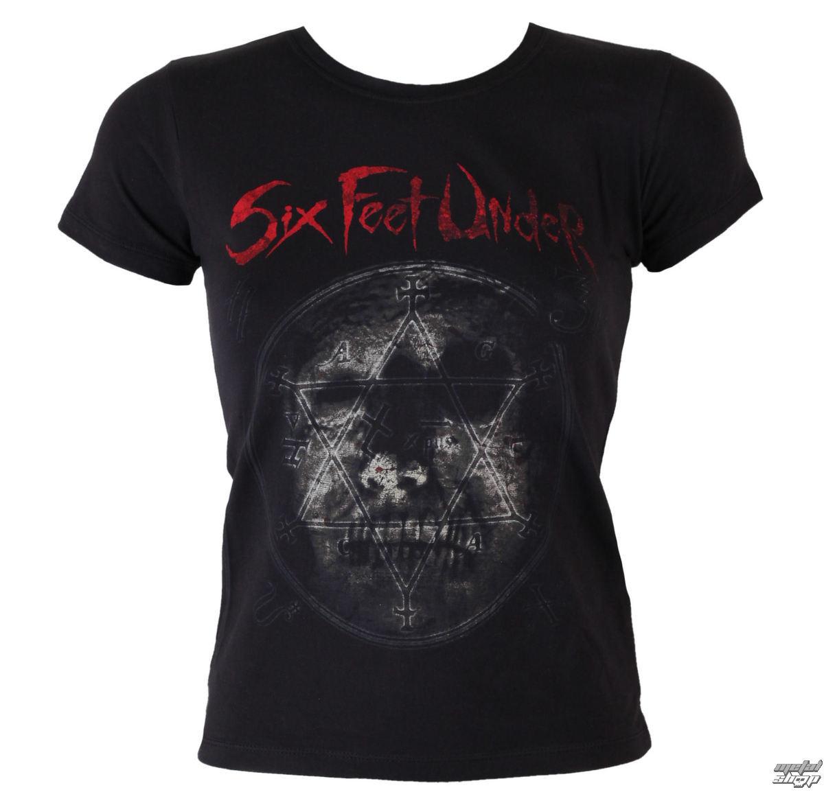tričko dámské Six Feet Under - Rotten Head - ART WORX - 057556