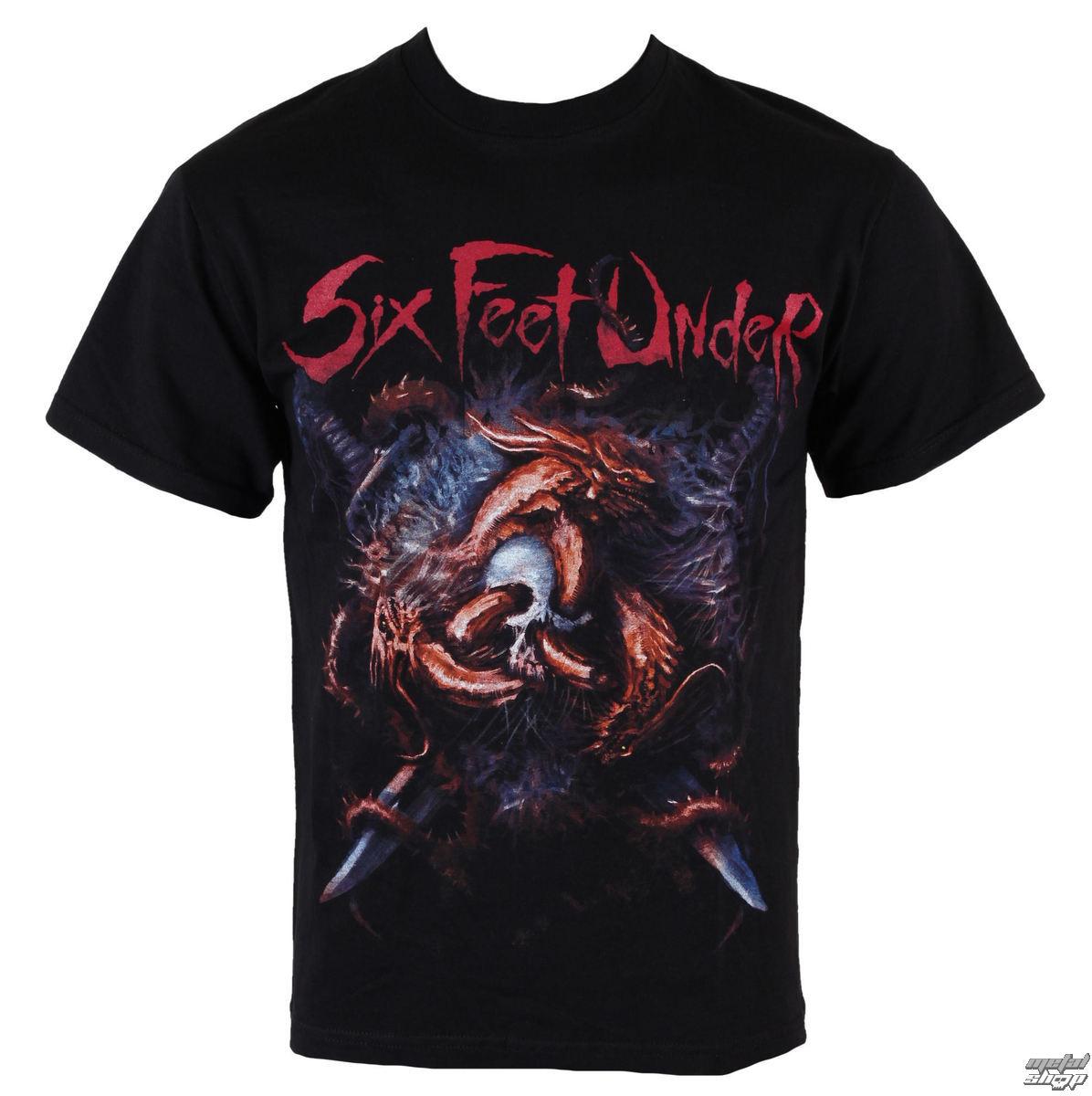 tričko pánské Six Feet Under - Viking - ART WORX - 187708