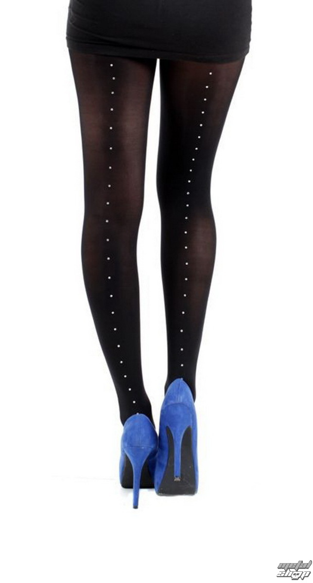punčocháče PAMELA MANN 80 Denier 3D Tights Black With Pyramid Seam