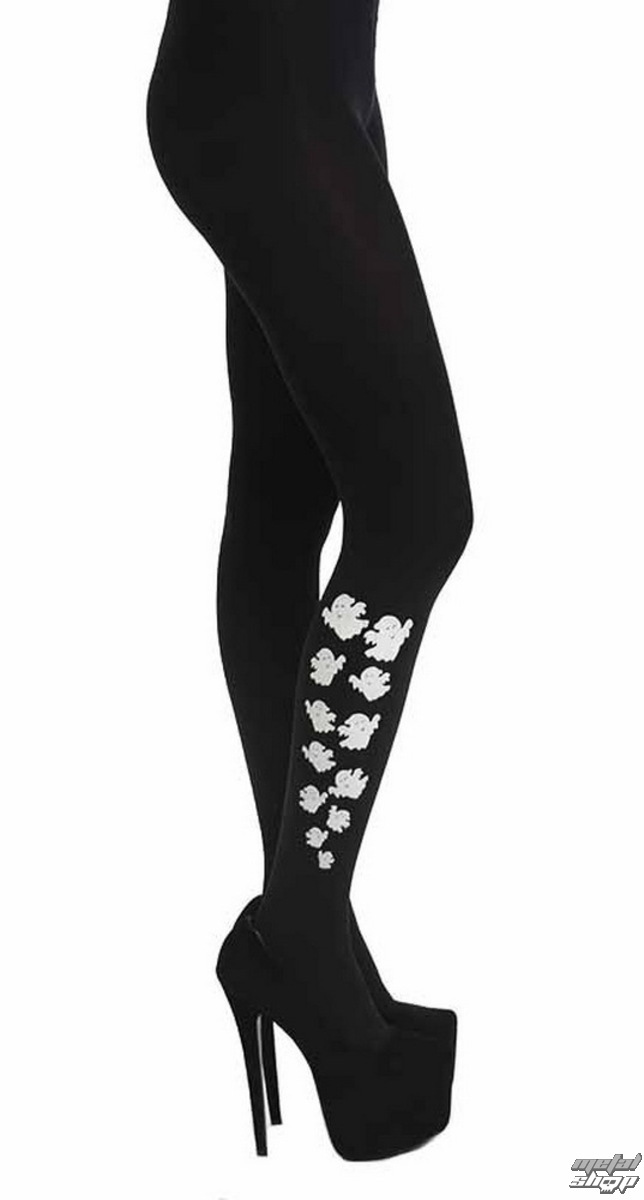 punčocháče PAMELA MANN - Escaping Ghost Tights - Black - PM213