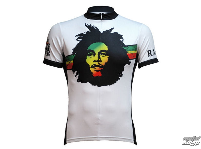 dres cyklistický PRIMAL WEAR - Bob Marley - Rasta Rock Jersey - BMRAJ10