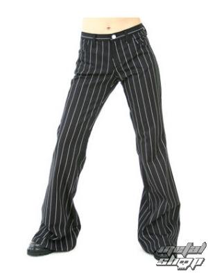 kalhoty dámské Aderlass - Bell Bottom Pin Stripe - M-1-06-050-01