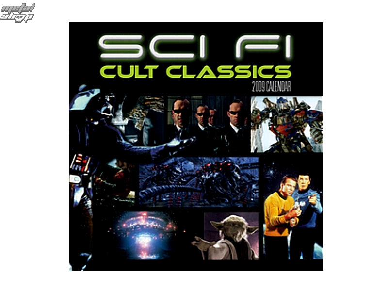 kalendář na rok 2009 - SCI-FI CULT CLASSICS 1