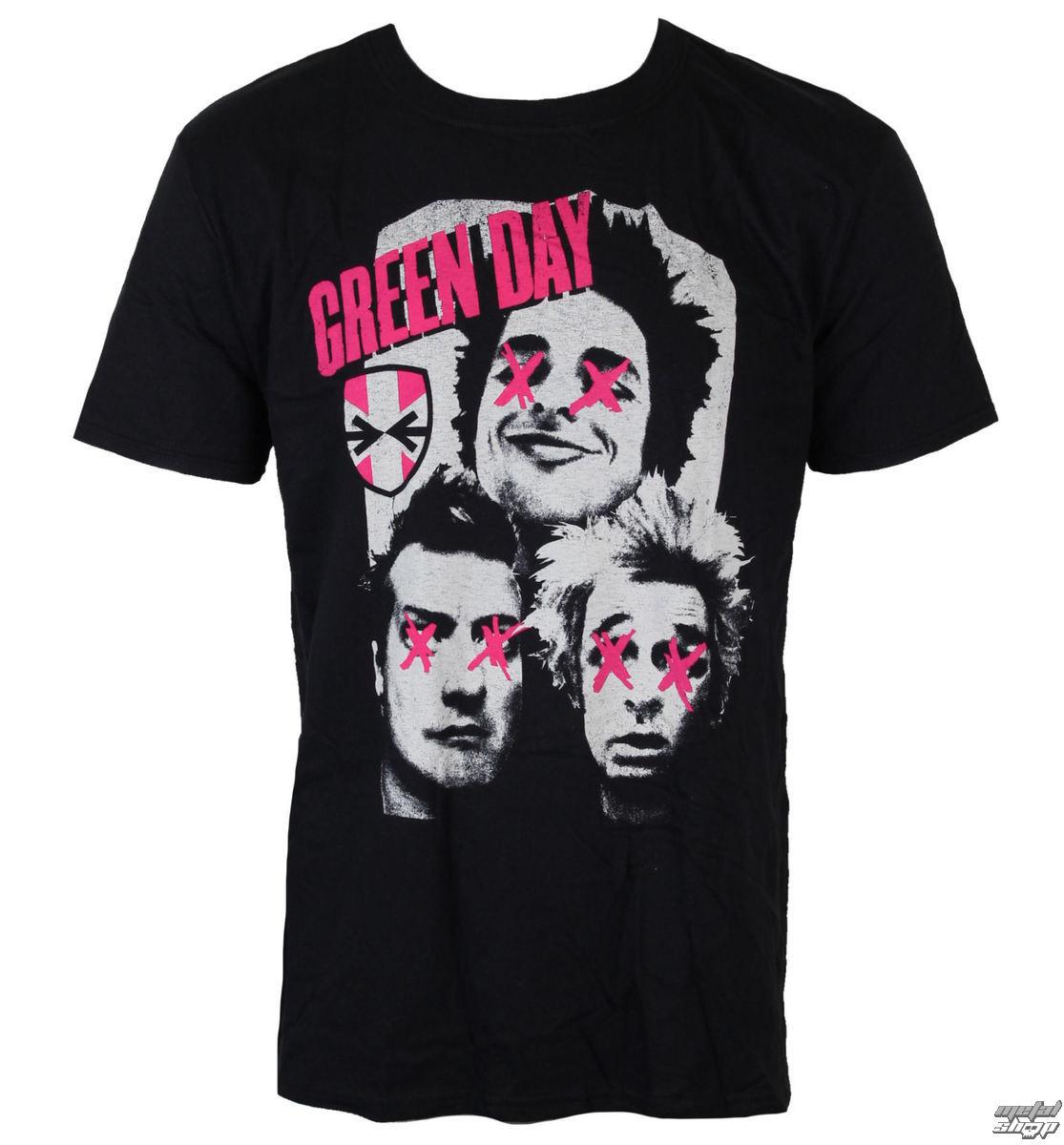 fbc9d36375f tričko pánské Green Day - Patchwork - ROCK OFF