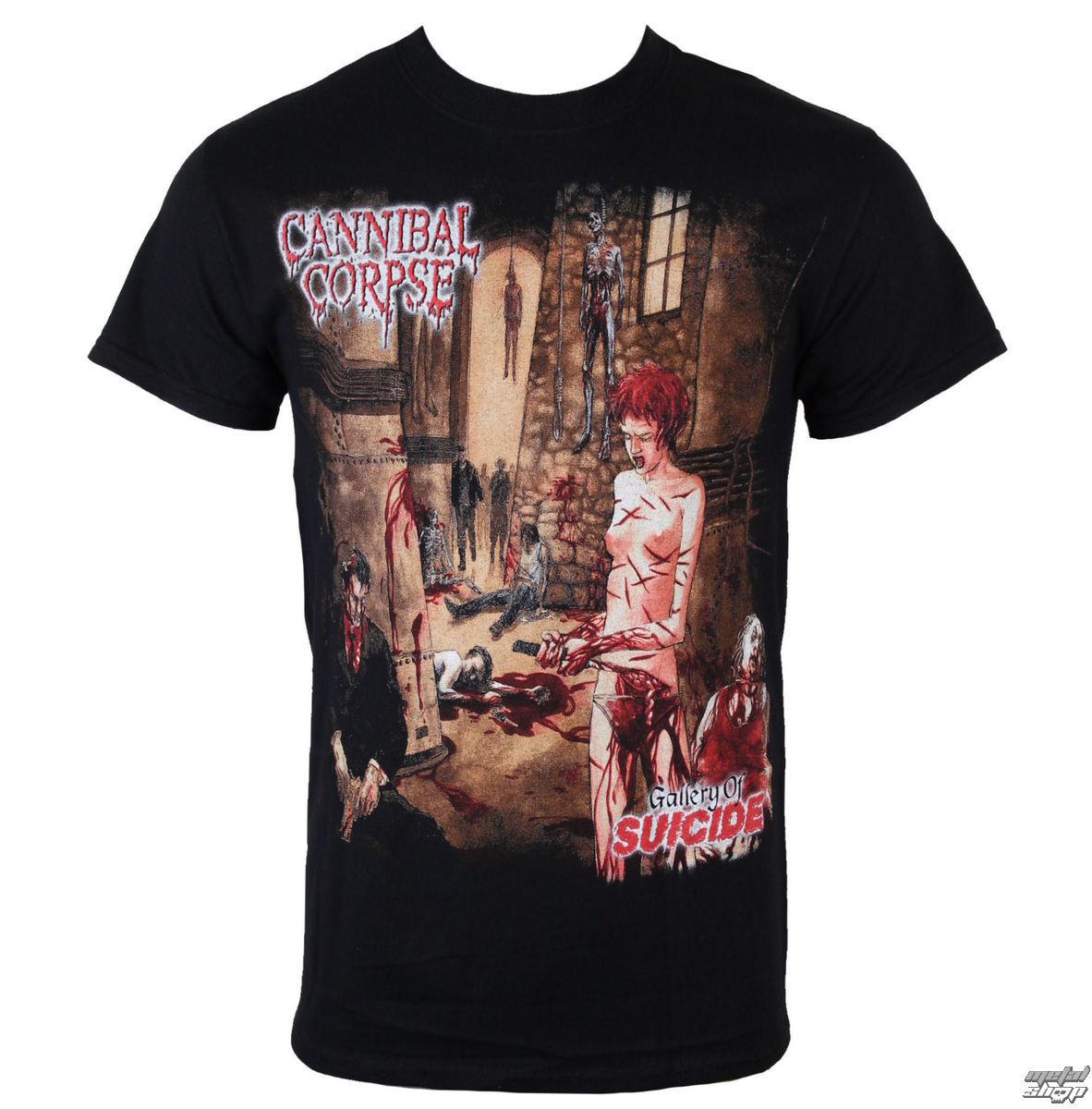 tričko pánské Cannibal Corpse - Gallery Of Suicide - JSR - CNC1101