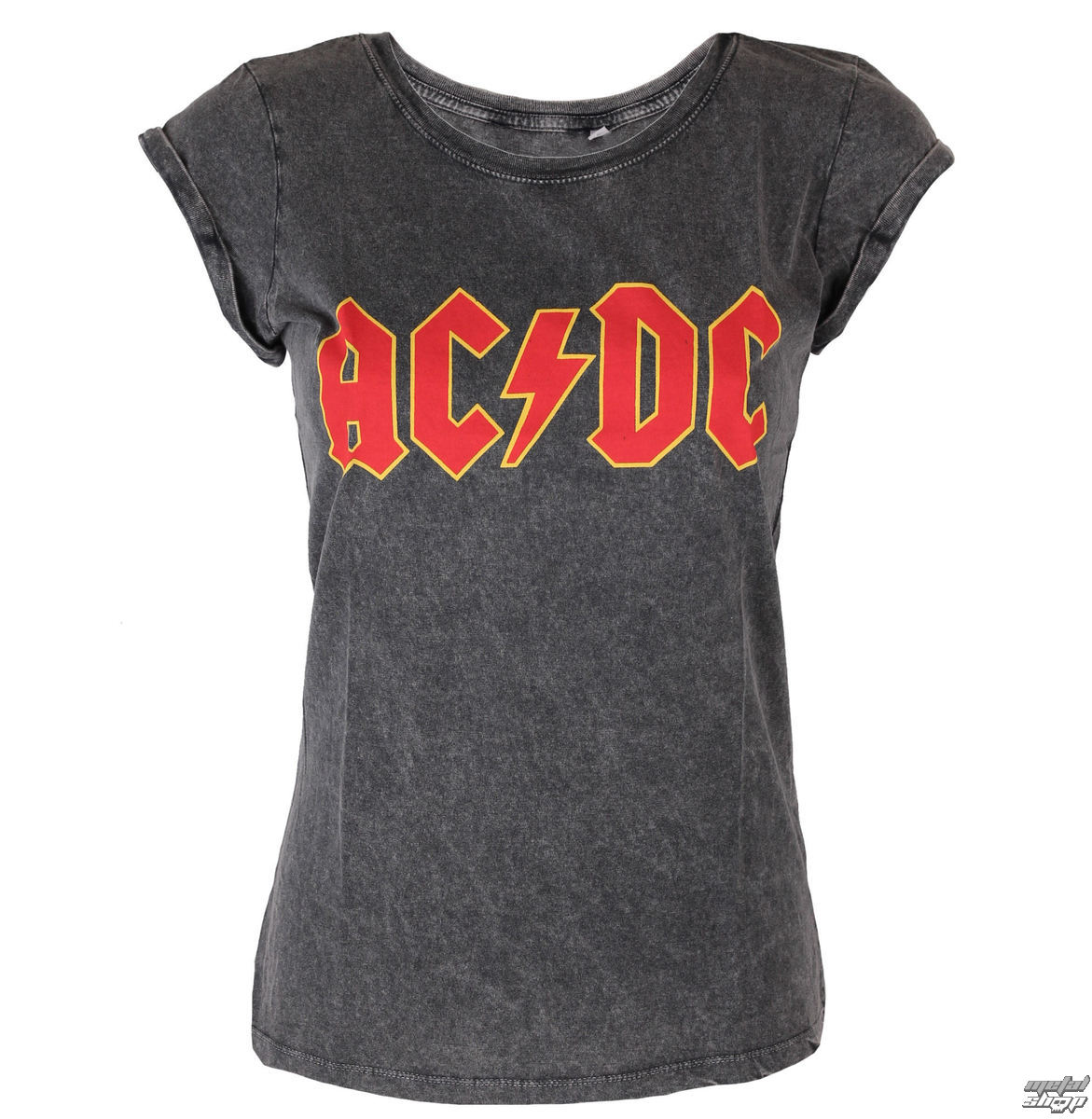 tričko dámské AC/DC - Classic Logo - ROCK OFF - ACDCTS23LAW