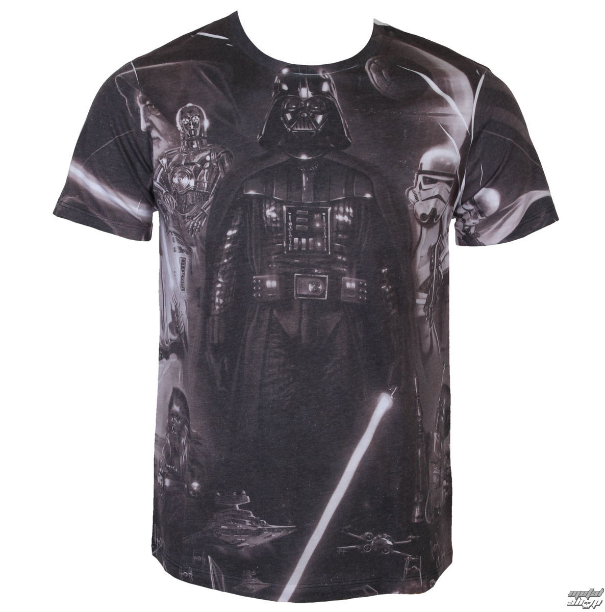 tričko pánské Star Wars - Vader Memories - Sublimation - LEGEND