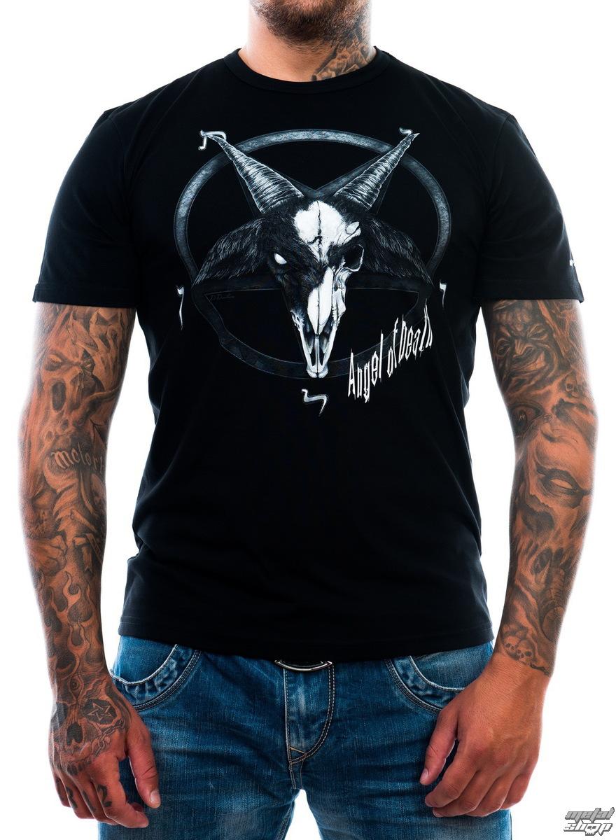 tričko pánské ART BY EVIL - Angel of Death - Black - ABE012