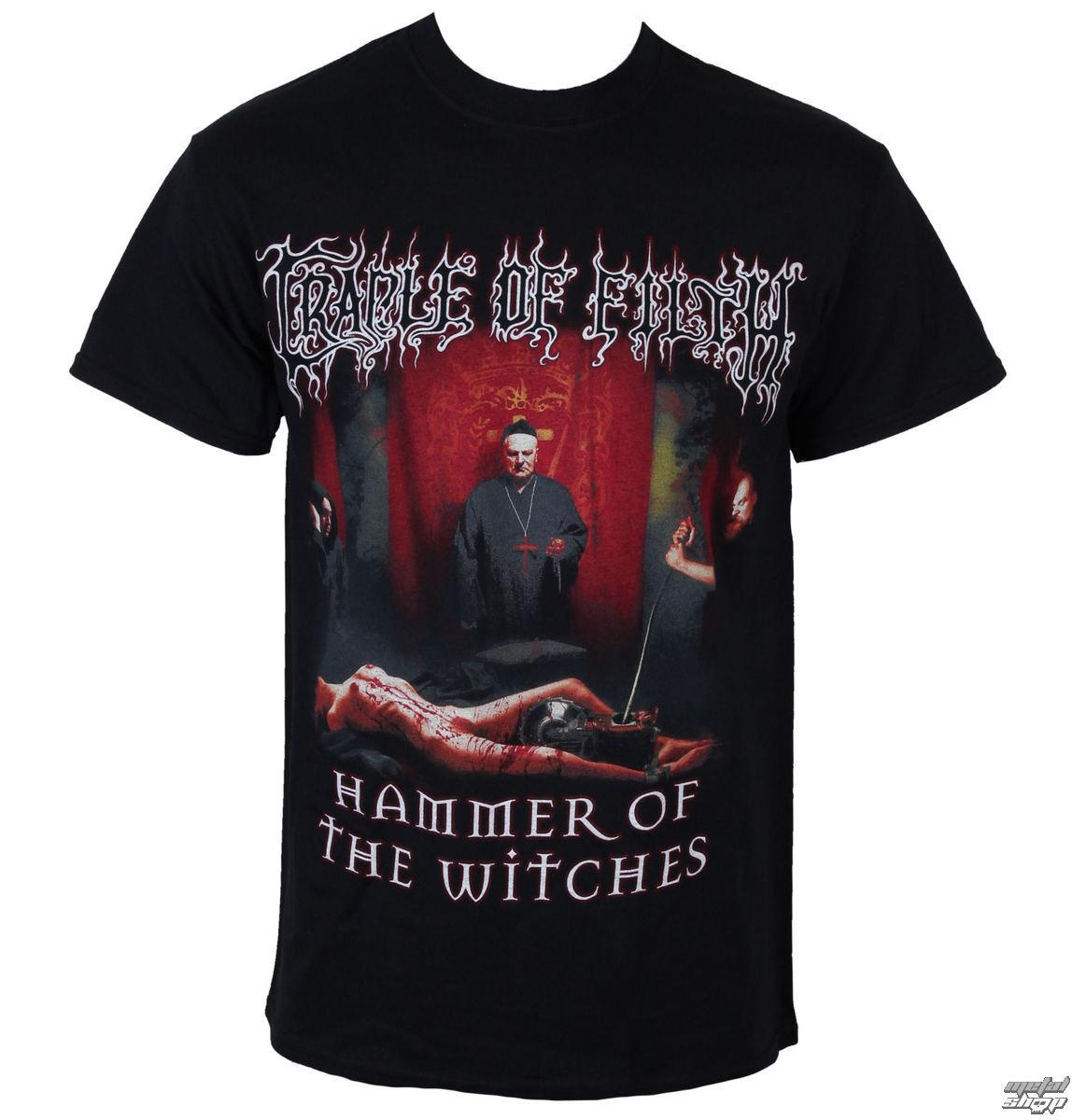 tričko pánské Cradle of Filth - Inquisitional Tourture - RAZAMATAZ - ST2001