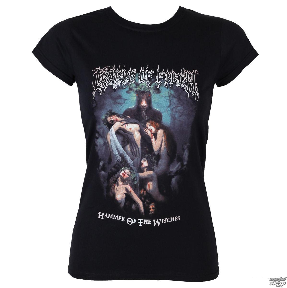 tričko dámské Cradle of Filth - Hammer Of The Witches - RAZAMATAZ - GS443