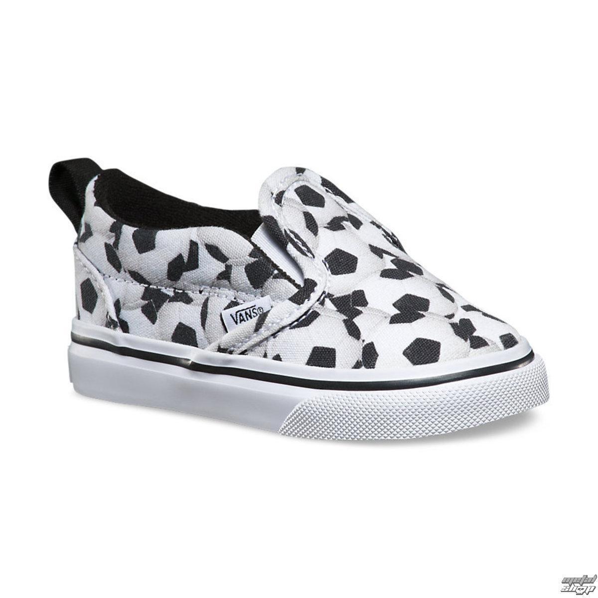 boty dětské VANS - Slip-On (Sports) - Soccer - Black/White - V3Z2IUY