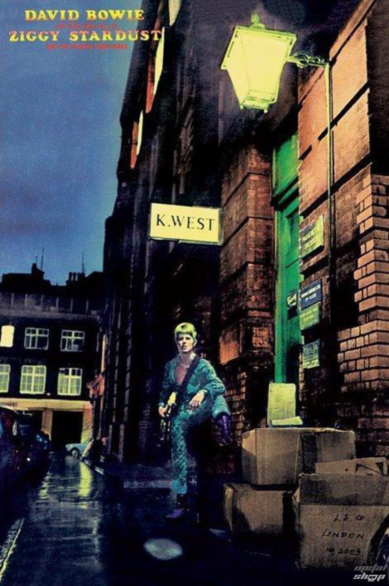 plakát David Bowie - Ziggy Stardust - PYRAMID POSTERS - PP30750