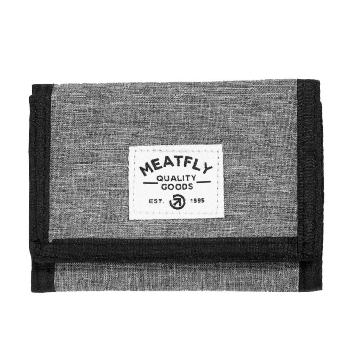 peněženka MEATFLY - LANCE - C - 12655 - Heather Grey - Black - MEAT204