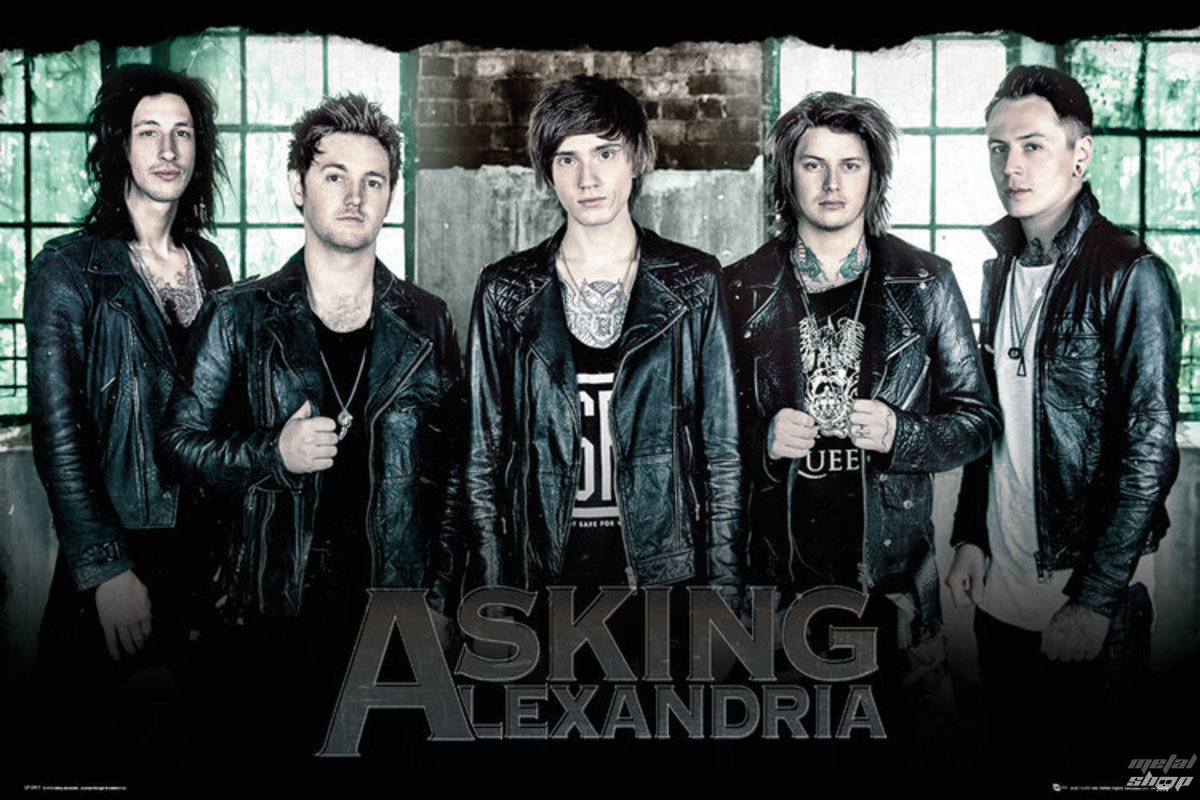 plakát Asking Alexandria - Window - GB posters