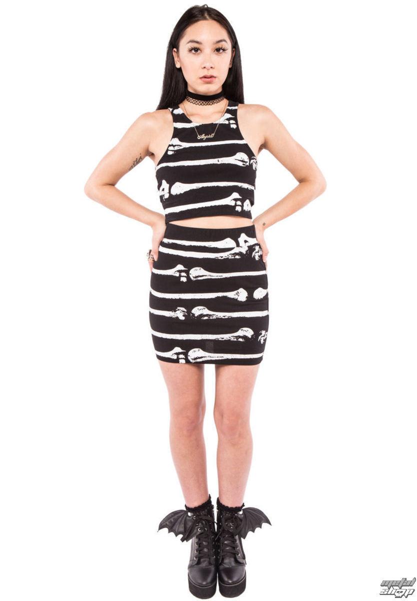 sukně dámská IRON FIST - Bone Me - Black - IFW004210