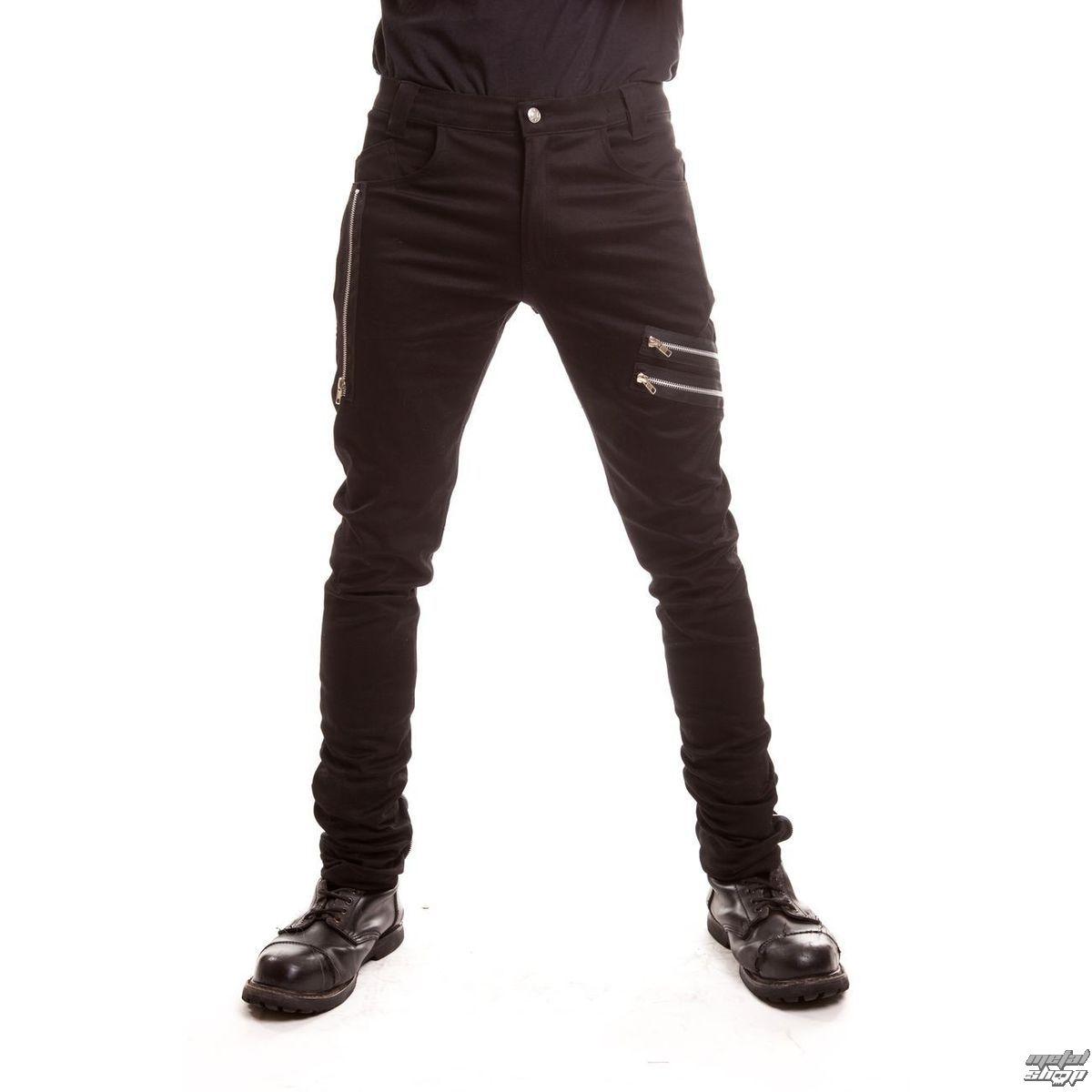 kalhoty pánské POIZEN INDUSTRIES - Nexus - Black - POI086