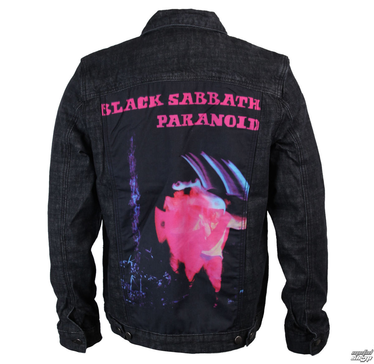 bunda pánská Black Sabbath - Paranoid - Denim - BRAVADO - 34192004