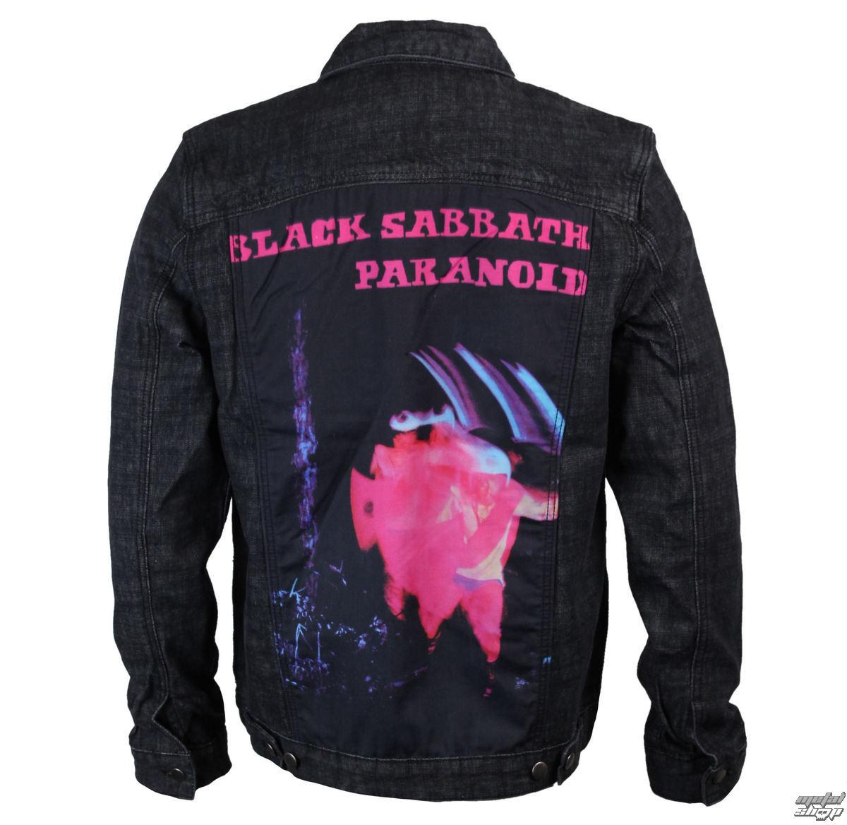 bunda pánská Black Sabbath - Paranoid - Denim - BRAVADO - 34192004