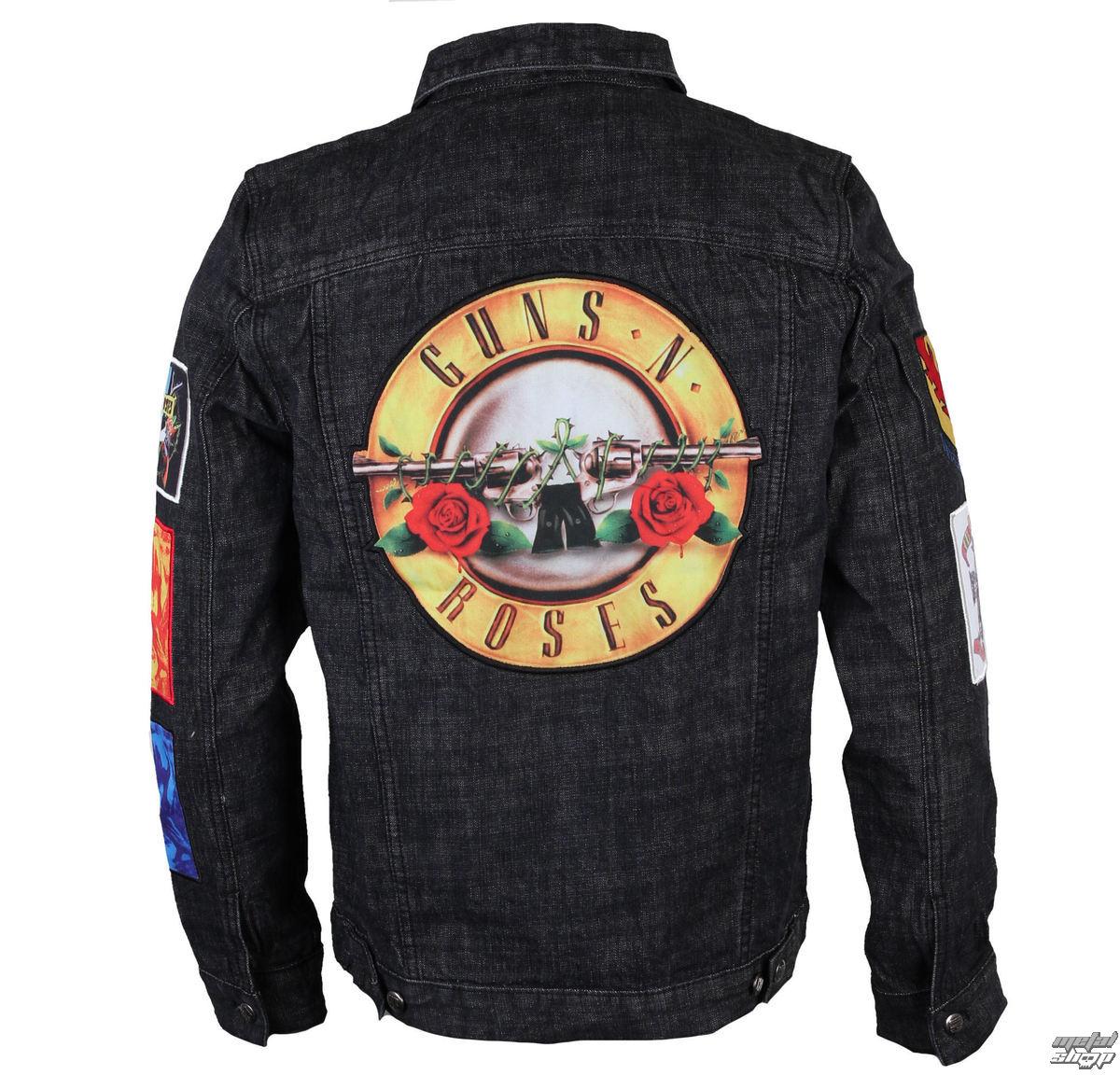 bunda pánská Guns N' Roses - Classic - Denim - BRAVADO - 12162106