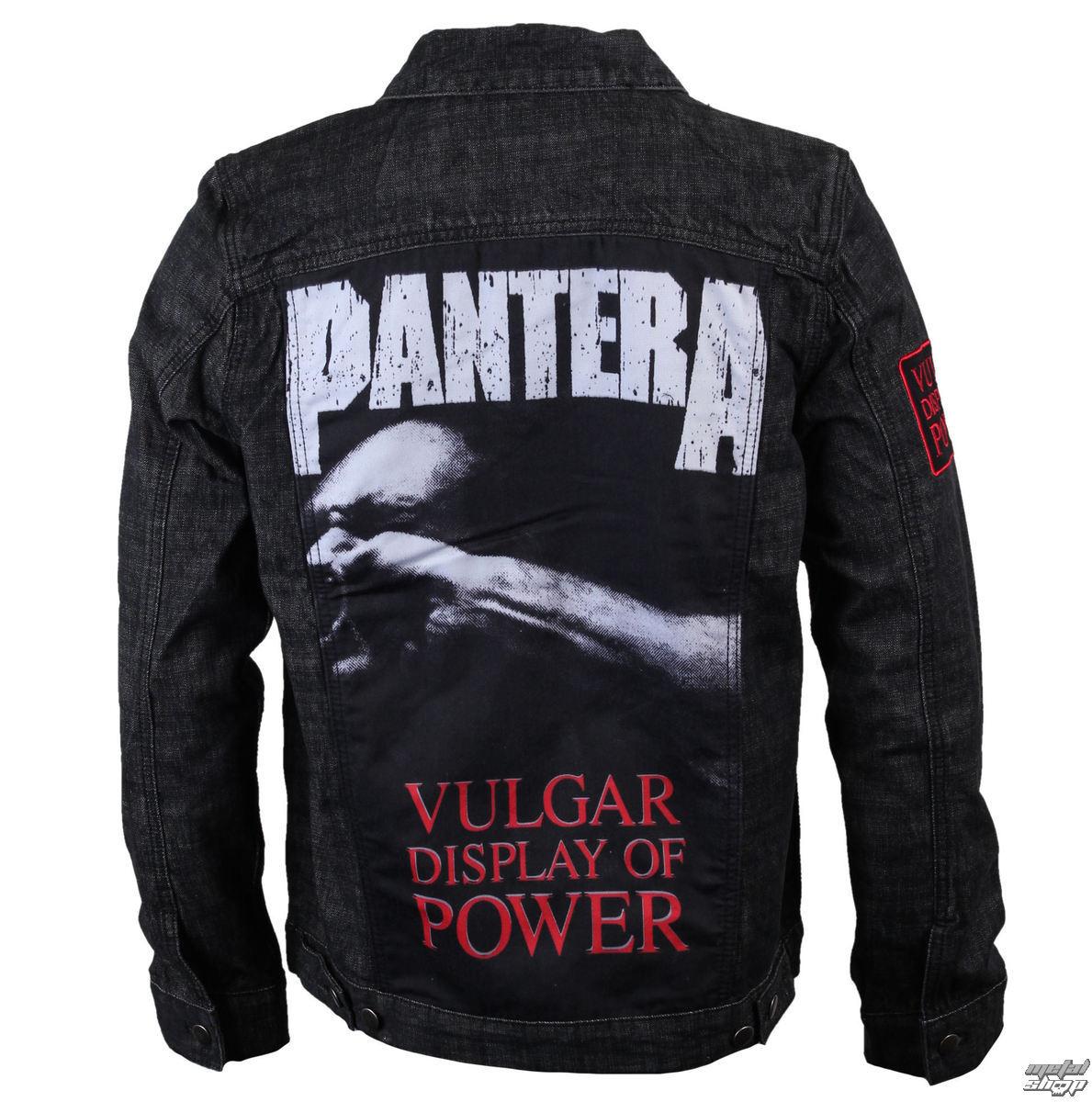 bunda pánská jarně/podzimní Pantera - Denim - BRAVADO - 31513001