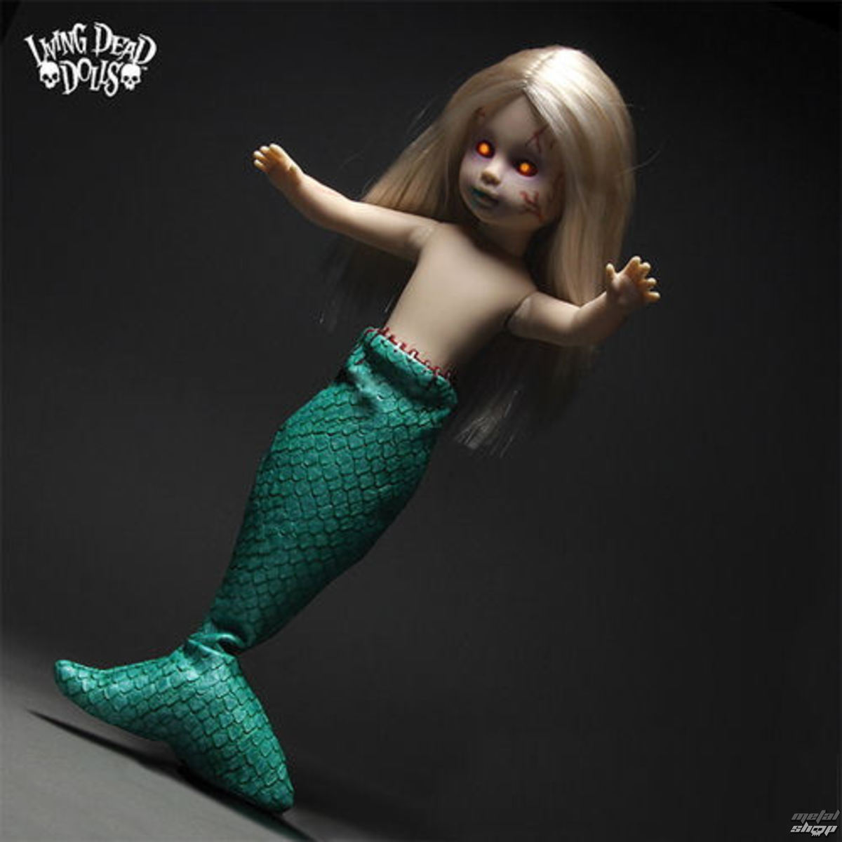 panenka LIVING DEAD DOLLS - Feejee Mermaid - MEZ93330-3
