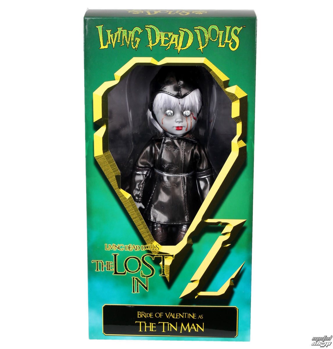panenka LIVING DEAD DOLLS - Bride Of Valentine As The Tin Man - MEZ94510-1