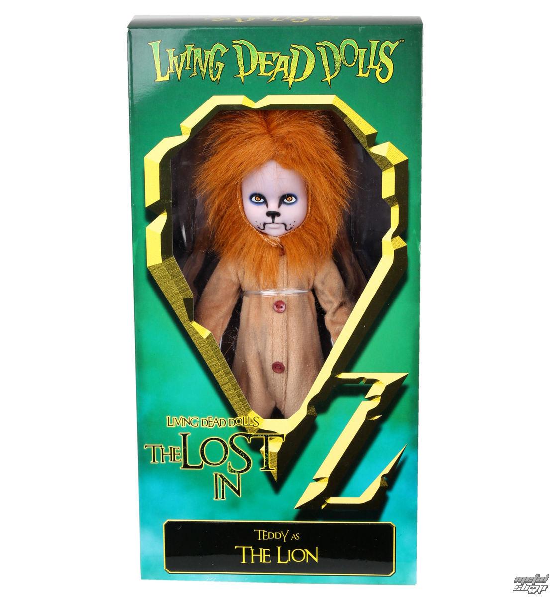 panenka LIVING DEAD DOLLS - Teddy as The Lion - MEZ94510-4