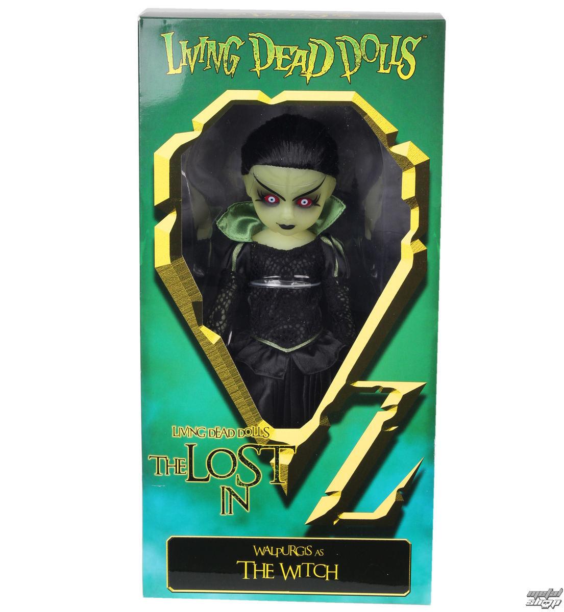 panenka LIVING DEAD DOLLS - Walpurgis as The Witch - MEZ94510-5
