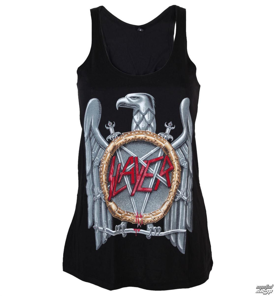 tďż˝lko dďż˝mskďż˝ Slayer - Silver Eagle Crystalina - ROCK OFF - SLAYPRV01LB