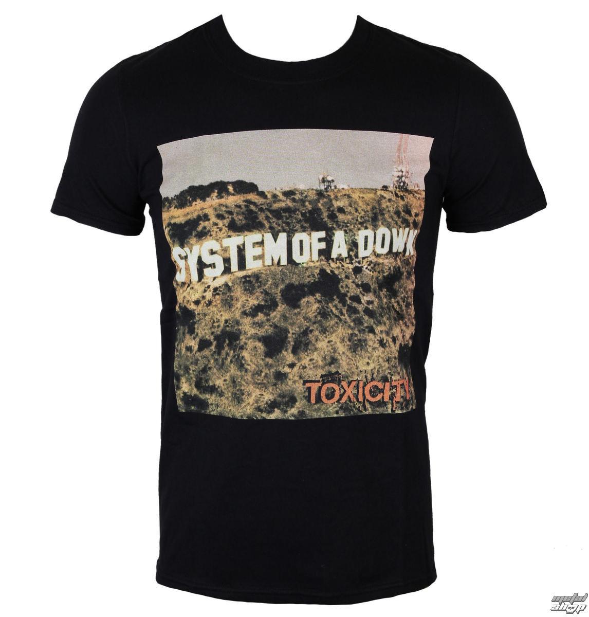 tričko pánské System Of A Down - Toxicity - ROCK OFF - SOADTS06MB