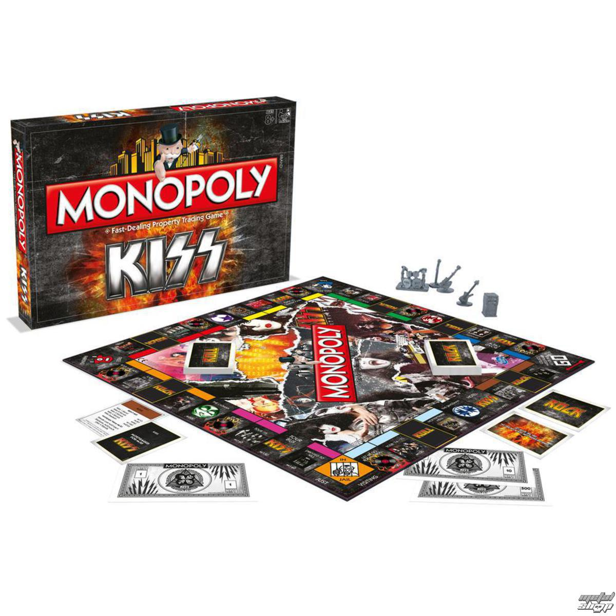 hračka NNM Kiss Rock Band Monopoly