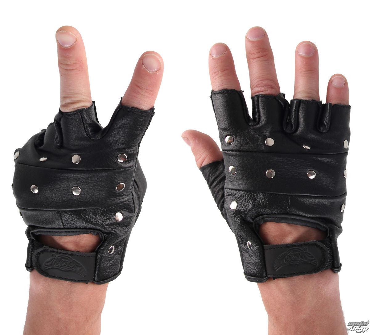 rukavice kožené OSX - DEMON - AC08