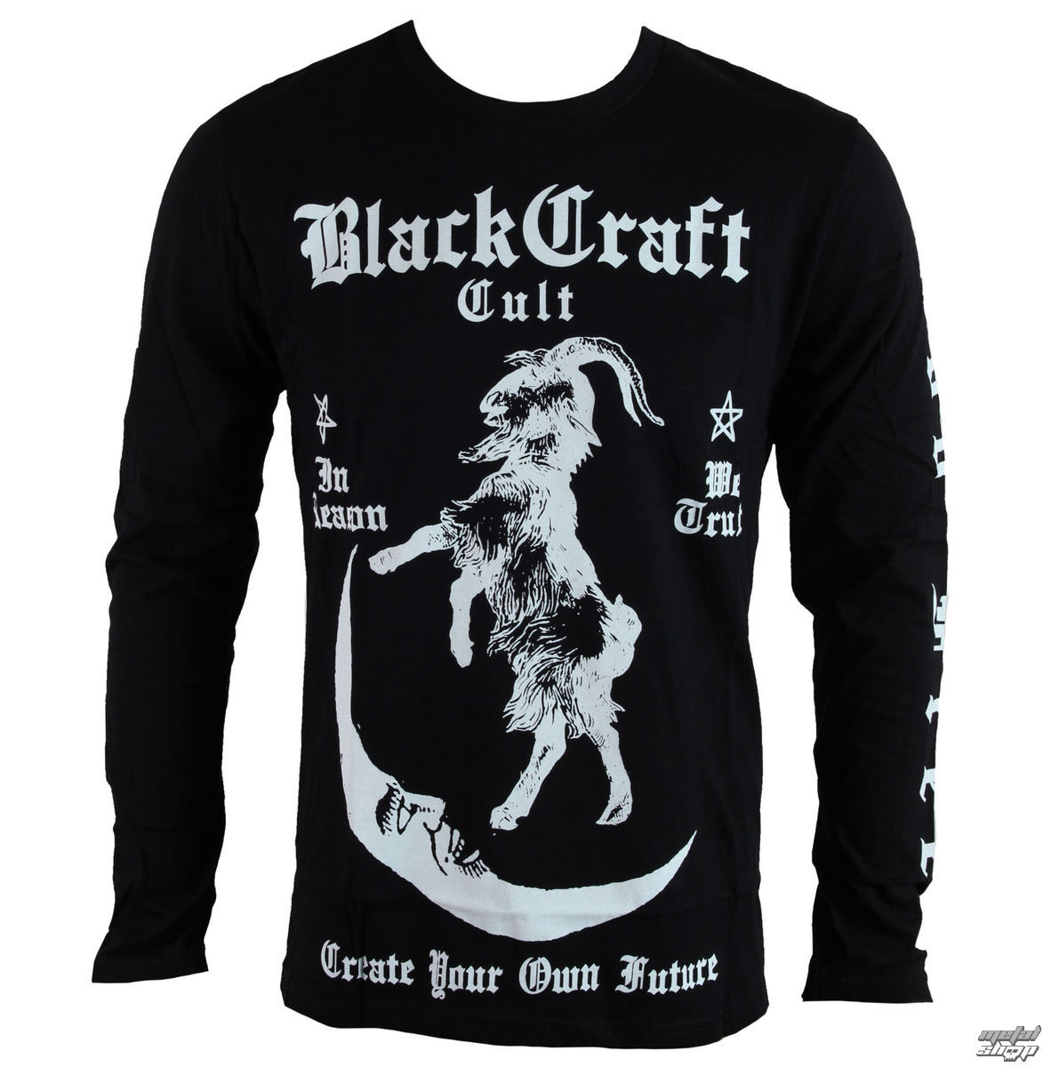 tričko BLACK CRAFT In Reason Long Sleeve černá XL
