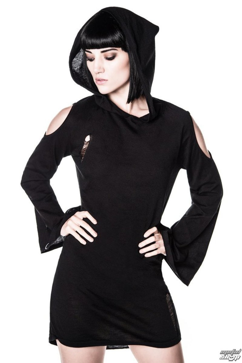 šaty dámské KILLSTAR - Dee Spare Distress Dress - Black