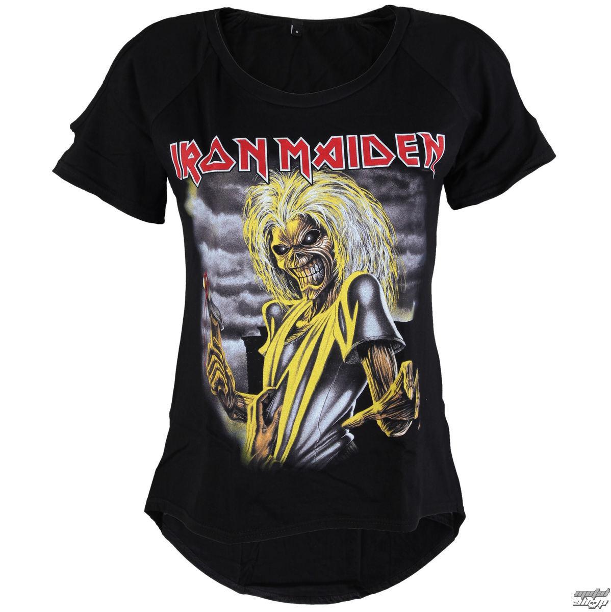 tričko dámské Iron Maiden - Killers - ROCK OFF - IMCOT01LB