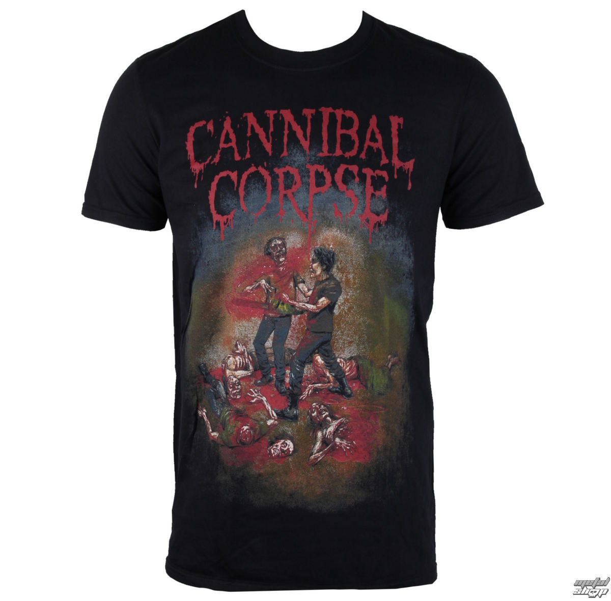 tričko pánské Cannibal Corpse - Chainsaw - PLASTIC HEAD - PH9852