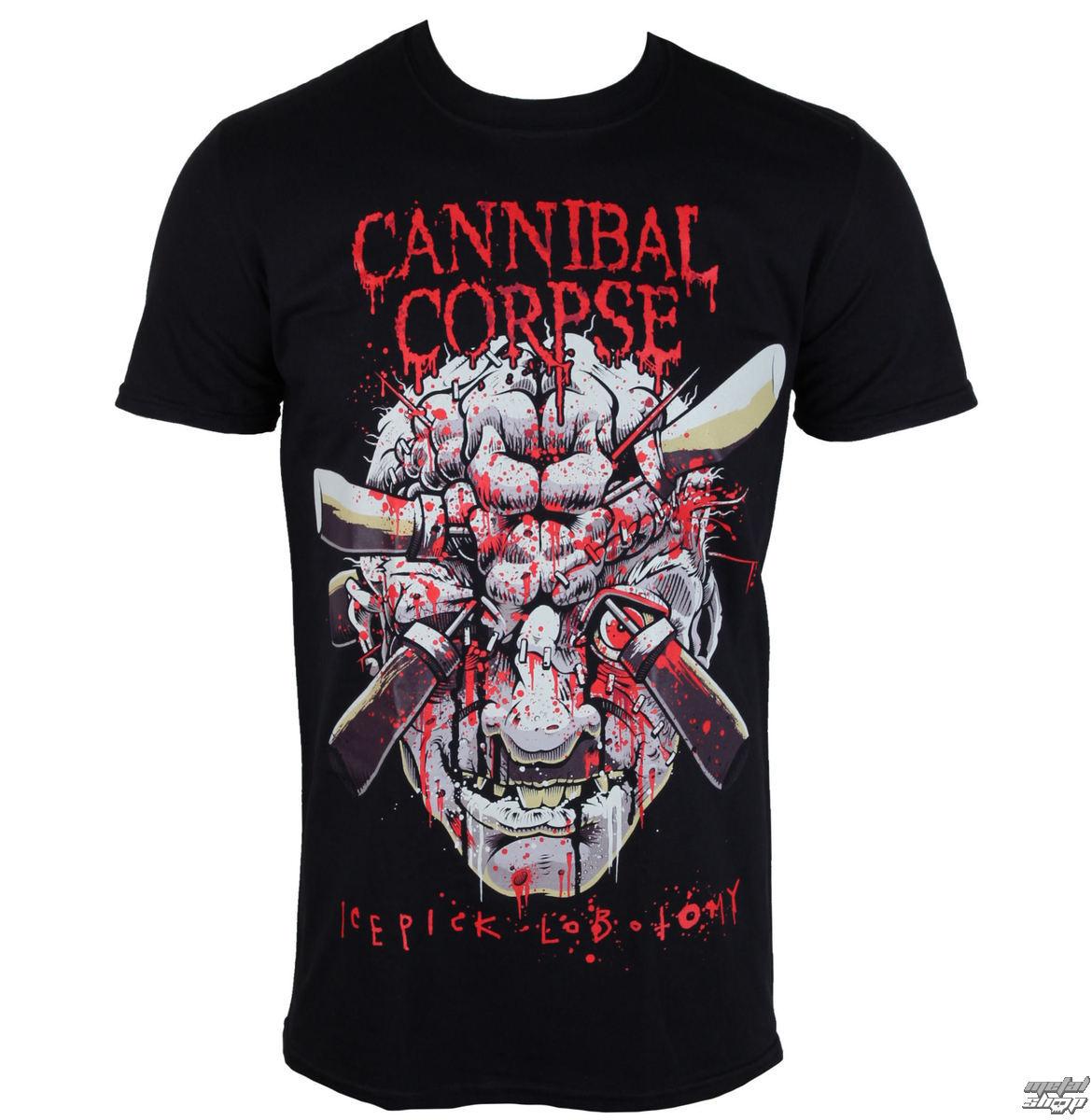 tričko pánské Cannibal Corpse - Ice Pick Lobotomy - PLASTIC HEAD - PH9853