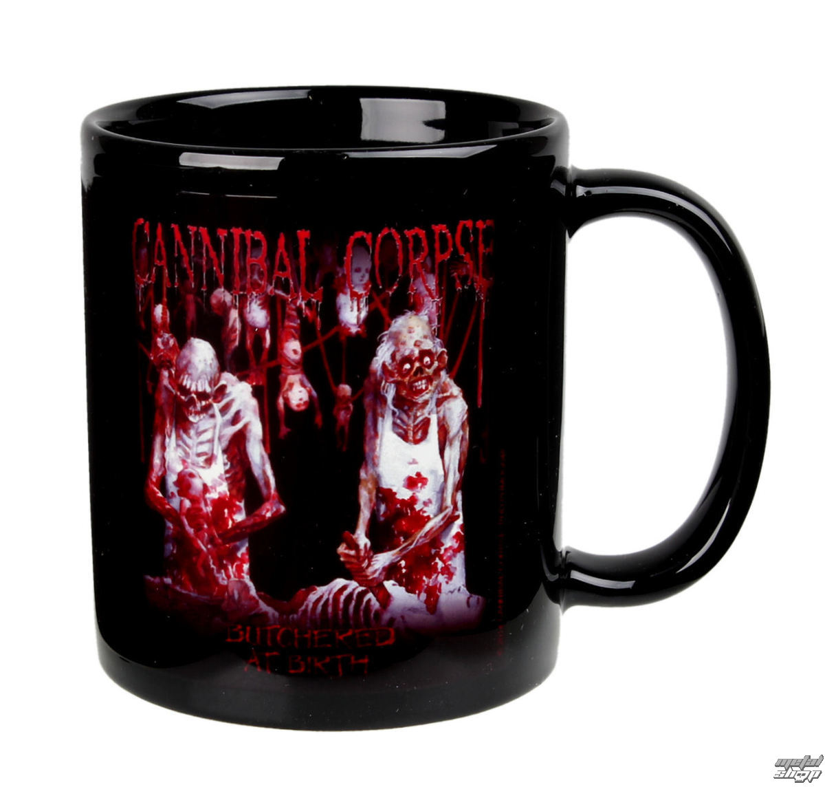 hrnek Cannibal Corpse - Butchered - PLASTIC HEAD - PHMUG048