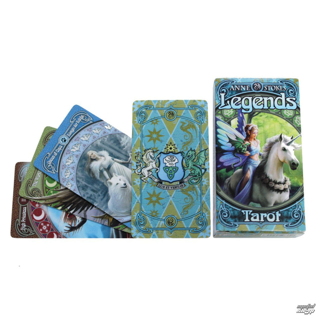 tarotové karty Anne Stokes Legends - NENOW - 1031264