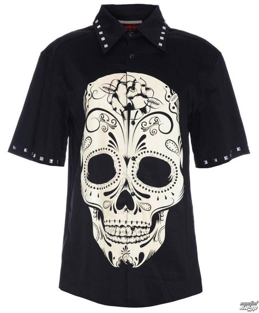 košile pánská JAWBREAKER - Blk - SHMA2910