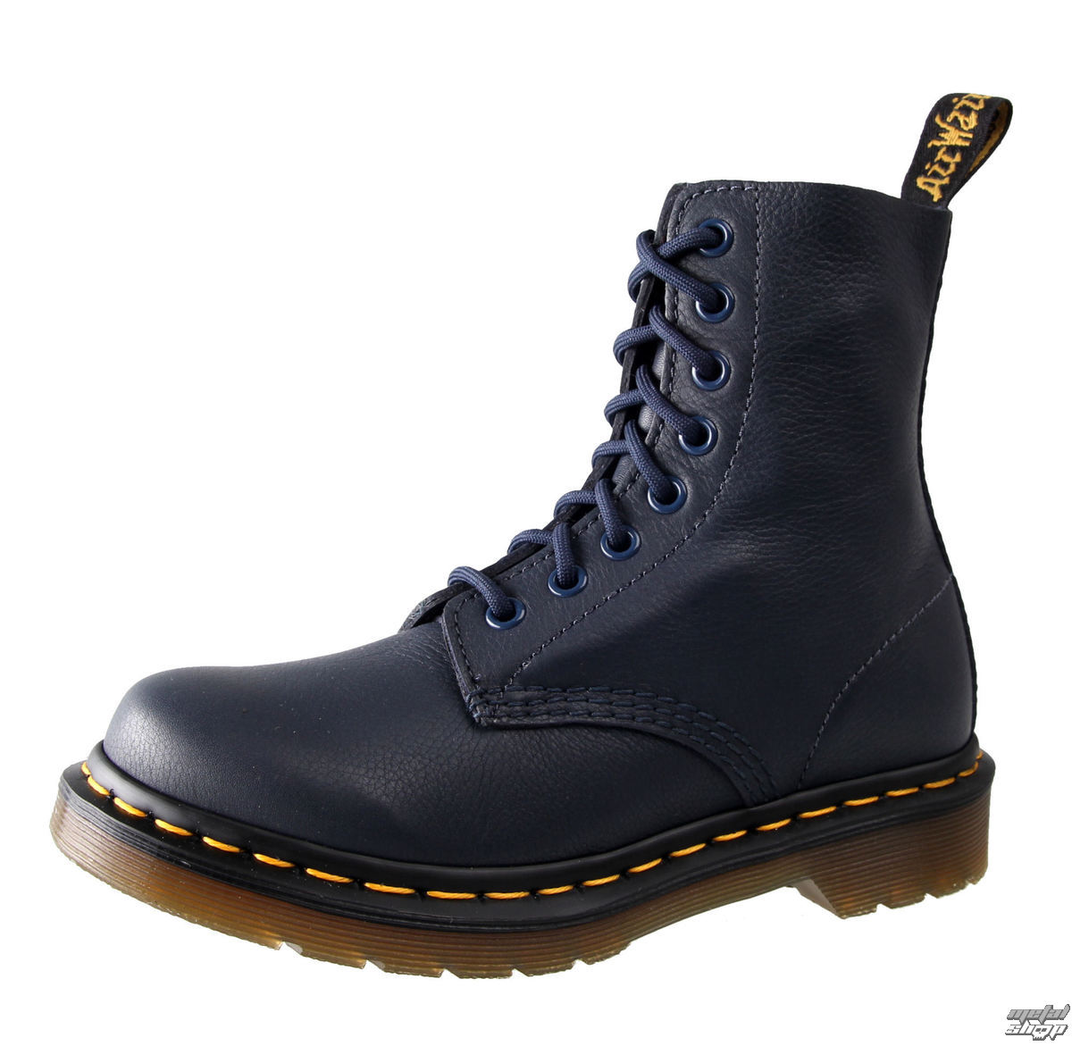 boty Dr. Martens - 8 dírkové - Pascal Dress Blues Virginia - DR003