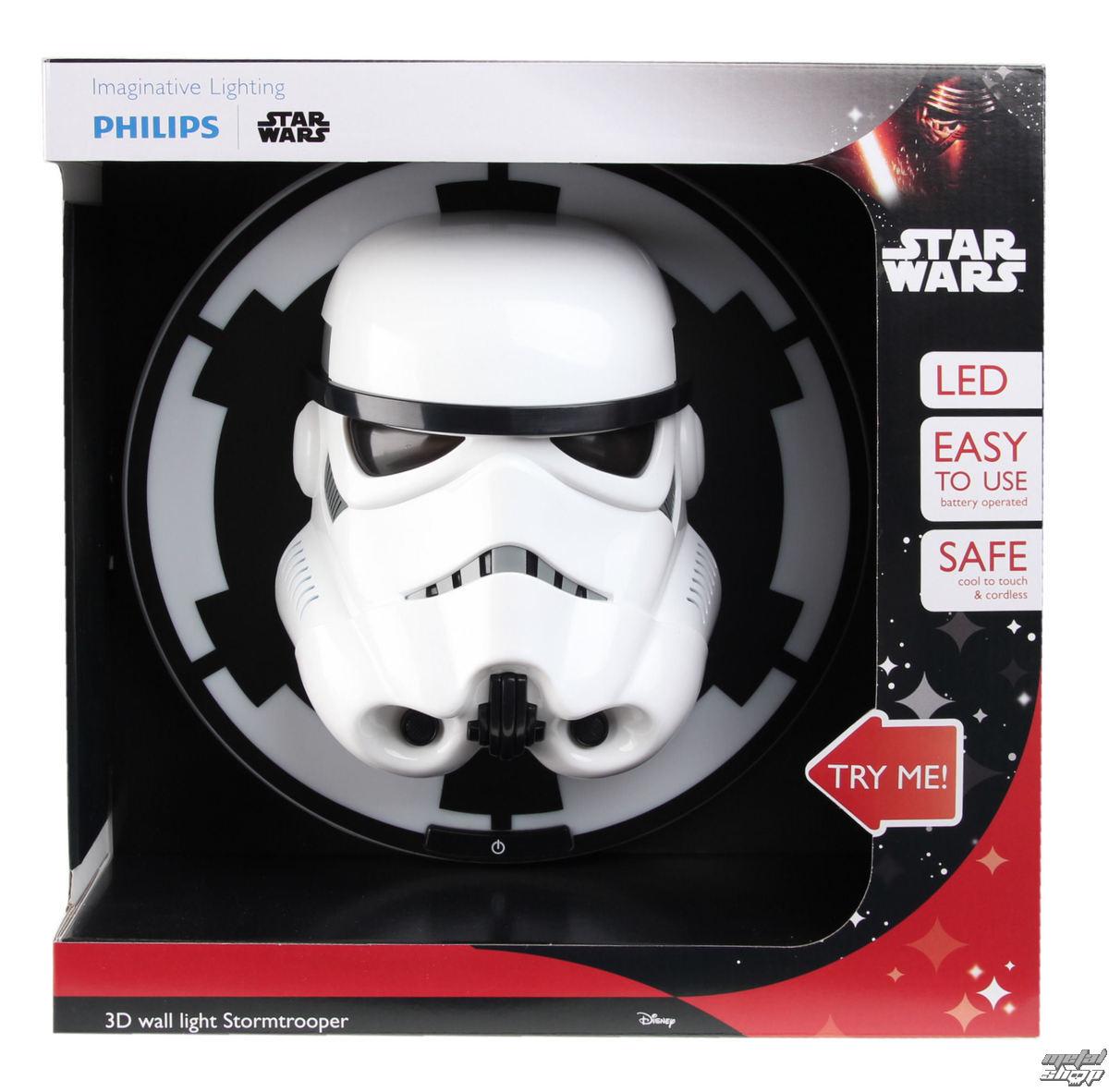 nástěnná lampa Star Wars - Stormtrooper - WHT - 3DLP16002GI