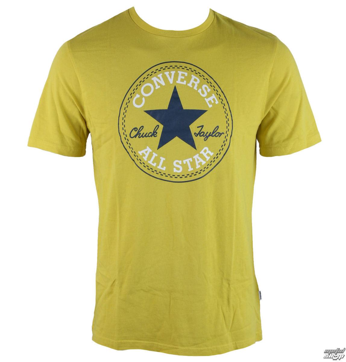 tričko pánské CONVERSE - Core Chuck Patch - 10002848-035
