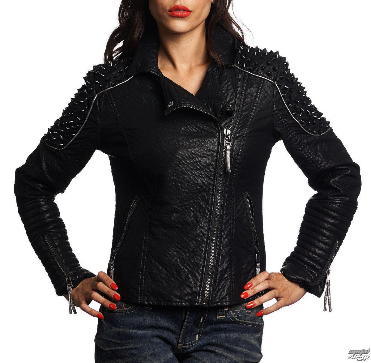 dámská bunda jarně/podzimní AFFLICTION - Black Cloud - BK - 111OW044