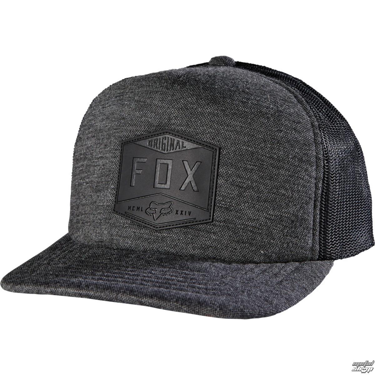 kšiltovka FOX Repine - Black - 17648-1