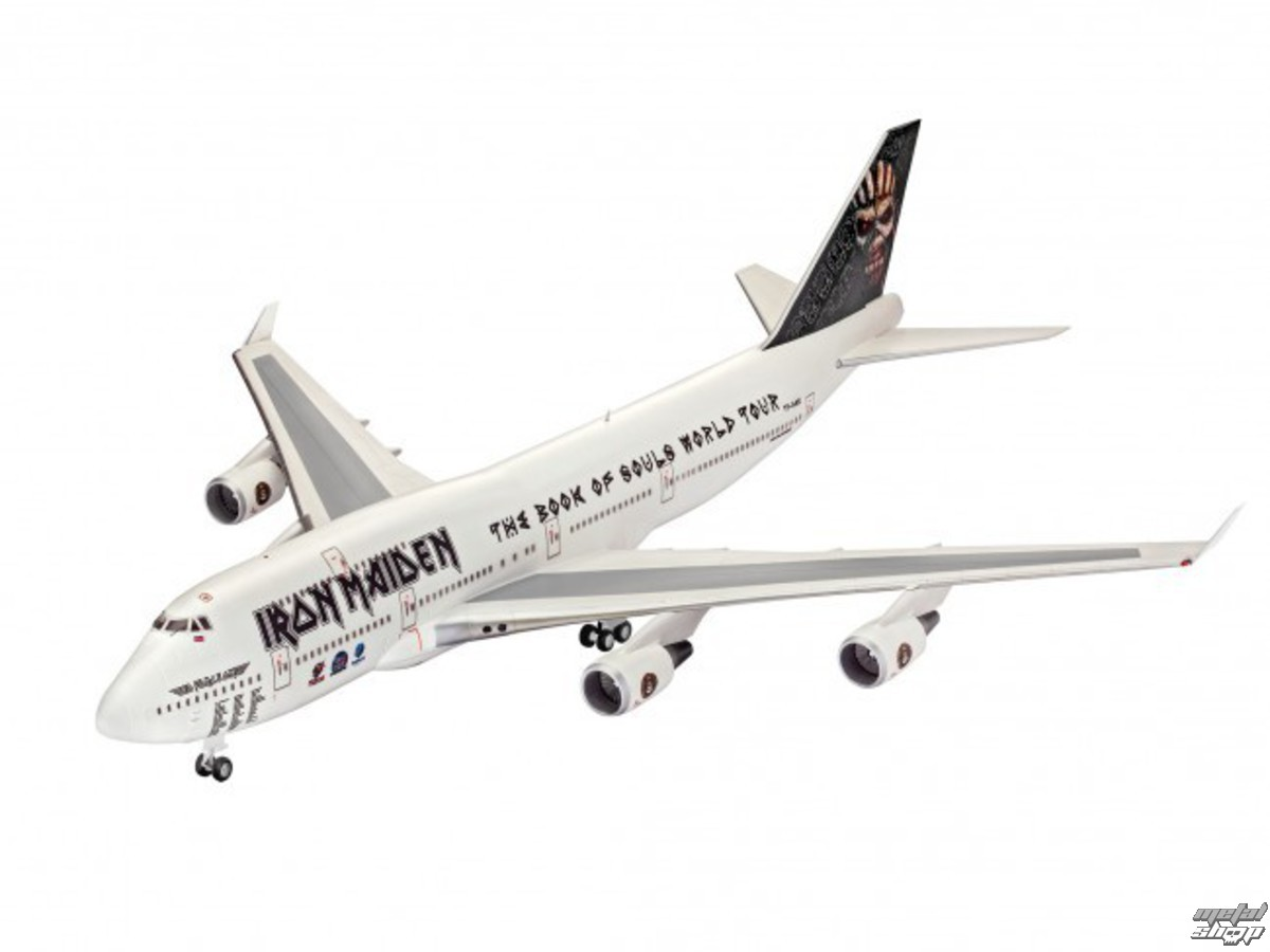 model Iron Maiden - Model Kit 1/144 Boeing 747-400 - REV04950