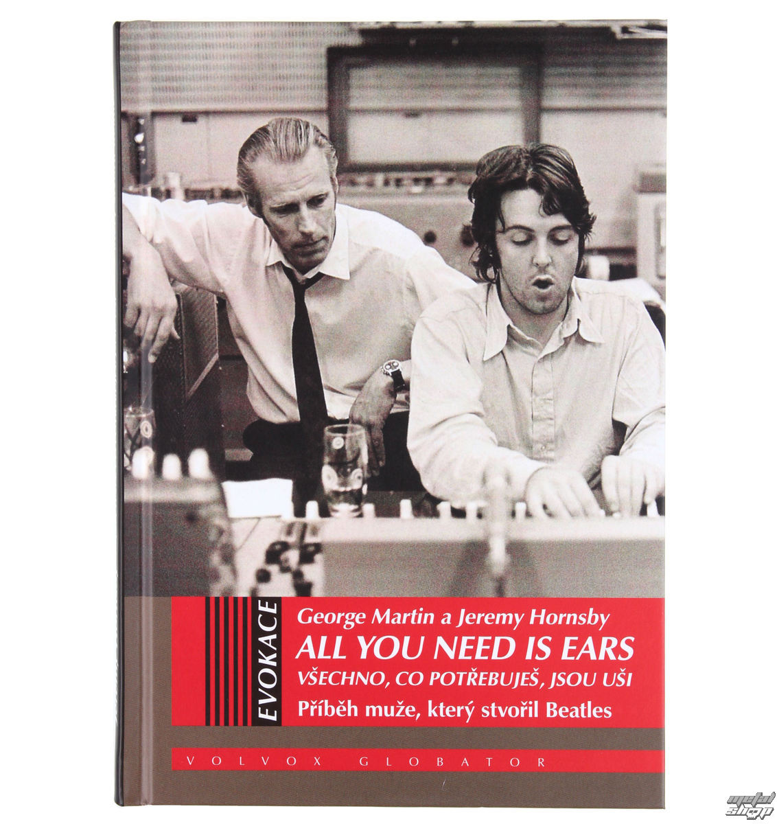 kniha George Martin a Jeremy Hornsby - All You Need Is Ears - VOL022