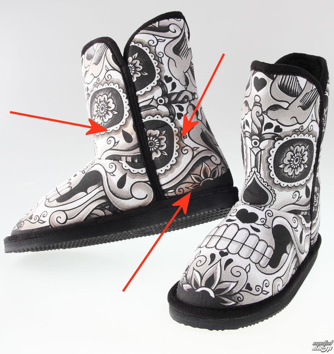 boty dámské (válenky) IRON FIST - Sugar Daddy Fugg - POŠKOZENÉ - N568