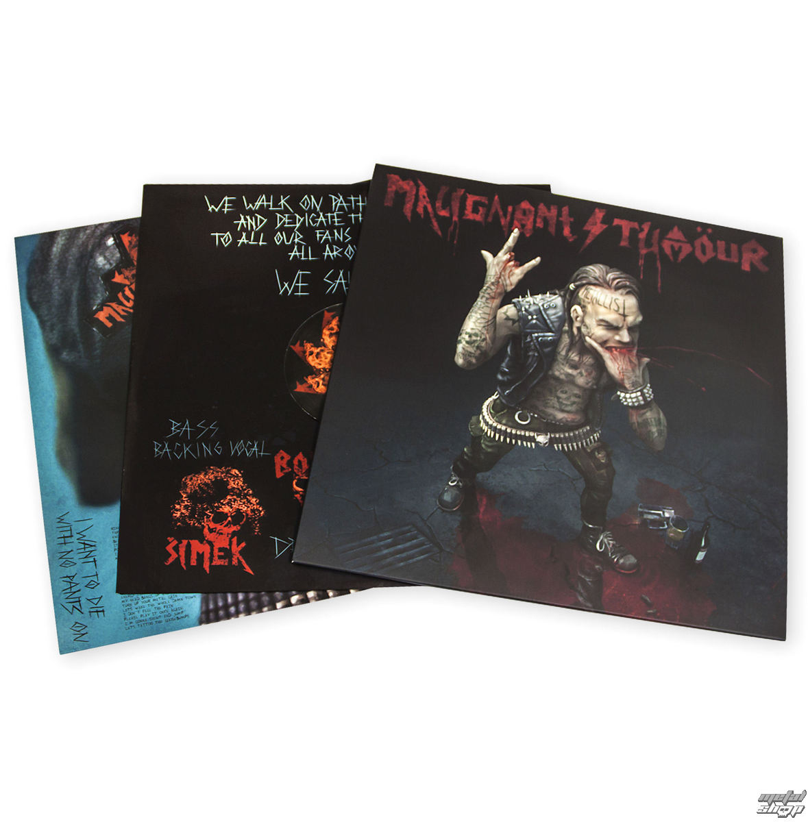 vinyl REGURAL LP Malignant Tumour - The Metallist - MT020