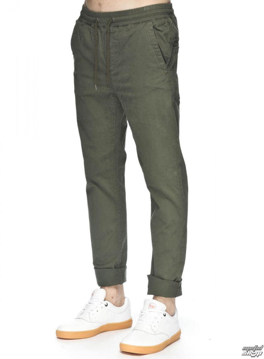 kalhoty pánské GLOBE - Goodstock Beach Pant - Army - GB01416001-ARM
